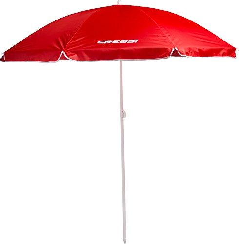Cressi Premium Umbrella Beach - Sonnenschirm aus Hochwertigem