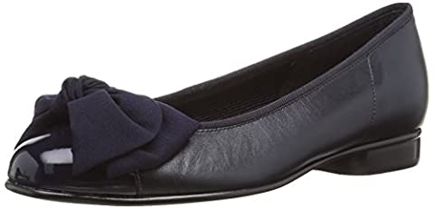 Gabor Amy, Ballerines Femme, Bleu (Blue Leather/patent), 38