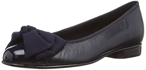 Patent Ballerinas Schuhe (Gabor 05/106/36 Damen Ballerinas, Blau (blue Leather/patent), 37.5 EU / 4.5 UK)