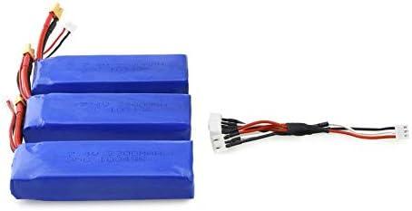 KNOSSOS 3Pcs 7.4V 2300mAh 35C 35C 35C Li-po Battery XT30 Plug for MJX Bugs 6 B6 RC Drone   Outlet  b764b8