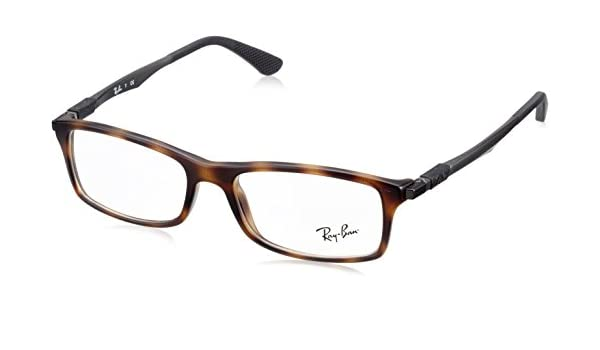 315df9ab3a Ray-Ban RX7017 5200 56 Mens Glasses  Amazon.co.uk  Clothing