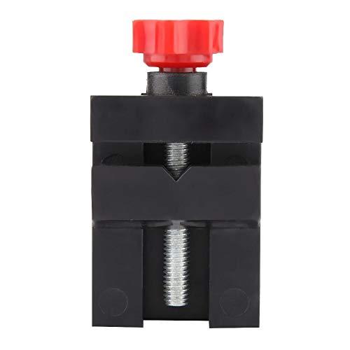 Mini Accessorio in Plastica per Officina Tornio in Legno Vice Z012 per Fissaggio Pezzo e Materiale