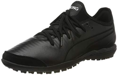 Puma Unisex-Erwachsene KING Pro TT Fußballschuhe, Black White, 38 EU