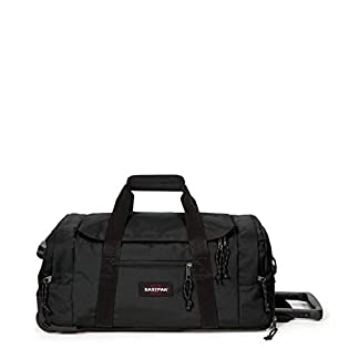 Eastpak Leatherface S + Bolsa de viaje, 55 cm, 41 liters, Negro (Black)