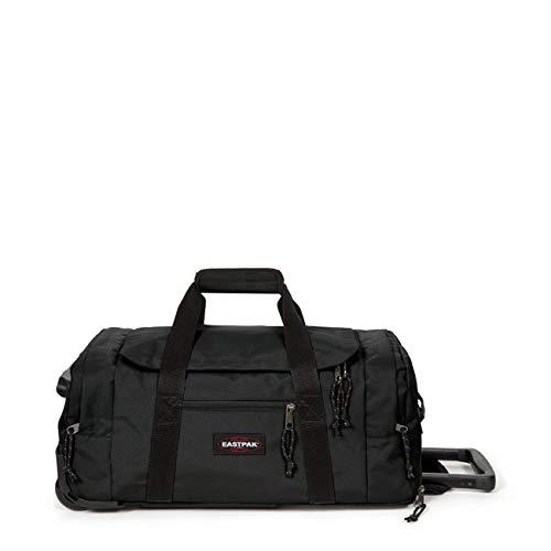 Eastpak Leatherface S + Reisetasche, 55 cm, 41 Liter, Black