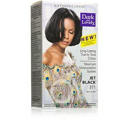 Fade Resistant Jet Black Permanent Hair Color by Dark & Lovely (Jet Loreal)