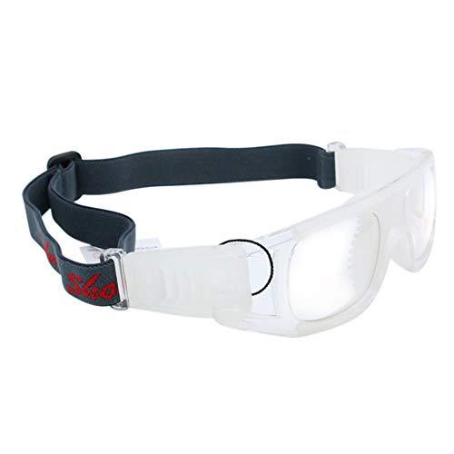 Lepeuxi Outdoor-Sportarten Anti-Fog-Basketball Schutzbrille Fußball Fußball Brillen Augenschutz für Männer (Basketball Brille)