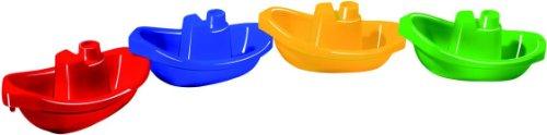 Spielstabil 3723 Miniboot, 1 Packung mit 4 Stück, Farben sortiert
