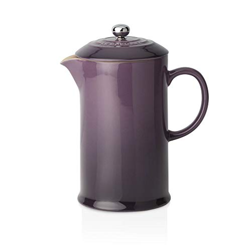 Le Creuset Steinzeug Kaffee-Bereiter, 0,75 L, cassis