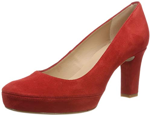 Unisa Numar_Classic_19_KS, Zapatos de Tacón para Mujer, Rojo Passion, 37 EU