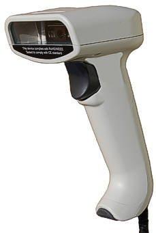 USB Handscanner MK-2000 Barcode-Scanner bis 430mm Leseabstand - 270 Scans/Sek. 32bit schnell, hochauflösend, liest auch die GS1 Codes