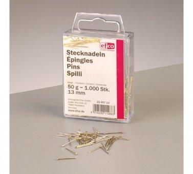 Stecknadeln vergoldet 10mm für Pailletten ca.50g / in der Kunststoffdose (Pailletten Unter $10)