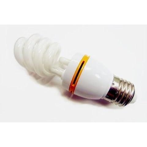 Illumi 12 Vmonster proiezioni DC 12 V Lampadina fluorescente compatta da 15 W, per sistemi a bassa tensione CFL-Lampada a energia solare, colore: blu