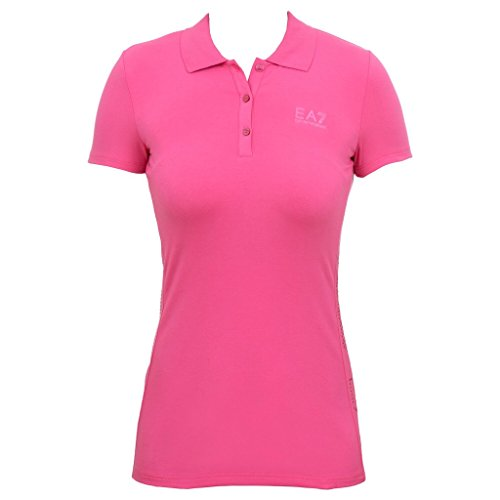 EMPORIO ARMANI EA7 Polo donna 283847 - L, RASPBERRY ROSE