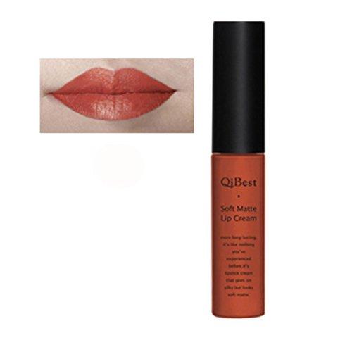 Lip Gloss,WINWINTOM 2018 Qibest Lipstick Matte Waterproof Liquide Rouge à lèvres Brillant à Lèvres longue Tenue,RD/11
