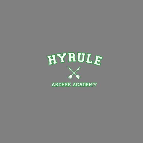 Zelda Hyrule Archer Academy - Stofftasche / Beutel Blau