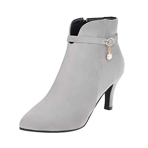Schuhe Damen High Heels, Beiläufige Joggingschuhe Rutschfeste Sneaker -