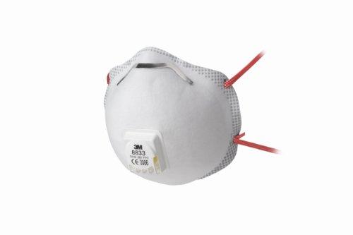 3M Atemschutzmaske, 5-er Pack FFP3 R D, 8833SP