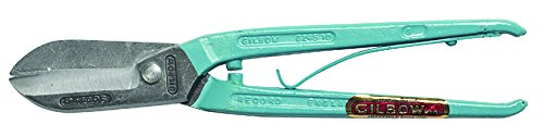Gilbow G245S Pince coupe-tôle avec poignée à ressort 35,5 cm