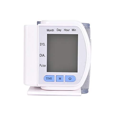YHMMOO Automatische Elektronischer Blutdruck-Monitor Arrhythmie Erkennung mit Digital LCD Display Medizinischen Grade Home Portable Ältere Eltern Gesundheit Geschenke,White