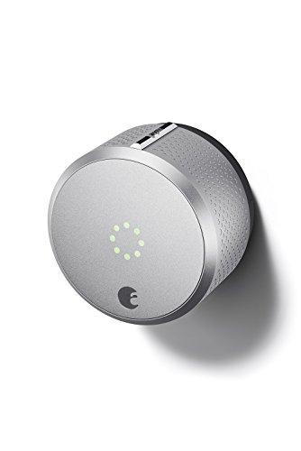 De agosto de Smart Lock HomeKit permitido (plata)