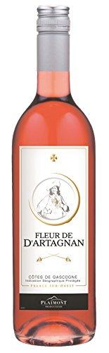 6 x 0,75l - 2017er - Fleur de d'Artagnan - Rosé - Côtes de Gascogne I.G.P. - Frankreich -...