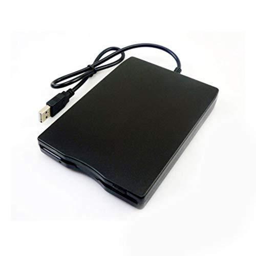 "CHOULI 1,44 MB Diskettenlaufwerk 3,5\""USB Externes Laufwerk Tragbares Diskettenlaufwerk FDD Schwarz"