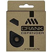 All Mountain Style AMSCD1BK Protecciones para Pedales: ¡Protege y estiliza Tus manivelas, Unisex Adulto, Negro, Talla única