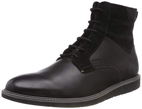 Geox Herren U UVET E Klassische Stiefel, Schwarz (Black C9999), 43 EU