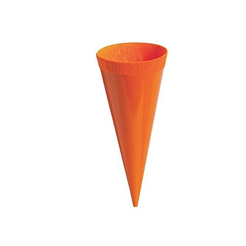 24 Kleine Schultüten Deko bunt Höhe 12 cm oberer Durchmesser 4 cm - 3