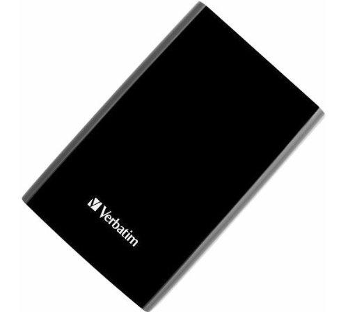 Verbatim 53176 Smart Disk externe Festplatte 750GB (6,35 cm (2,5 Zoll), 5400rpm, SATA, USB 3.0) schwarz