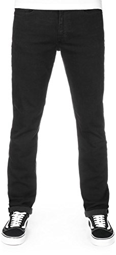 Calvin Klein Jeans Men's Straight-Black Tarantula Slim Jeans