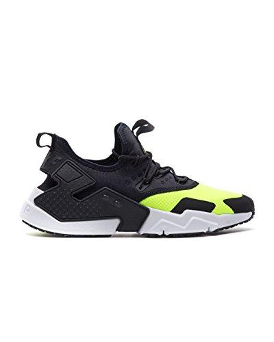 Nike Herren Air Huarache Drift Laufschuhe Mehrfarbig (Volt/Black/White 700) 43 EU
