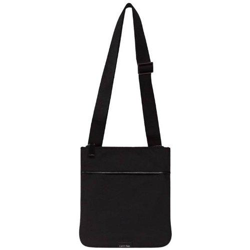 Calvin Klein , Sac pour homme à porter à l'épaule Noir Nero
