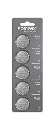 Sompex knopfbatterien cR2450 lot de 540 mAh