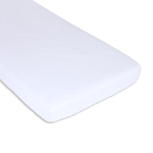 Bolín Bolón Sabana Bajera Cuna Ajustable, Blanco, 60 x 120 cm