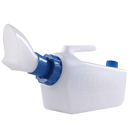 Urinal Chunlan Anti-Überlauf Ältere weibliche Großraum Lagerung, Reise-WC, 1000ML / 2000ML (Farbe : B)