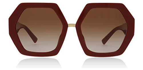 Valentino Sonnenbrillen Resort VA 4053 RED/Brown Shaded Damenbrillen