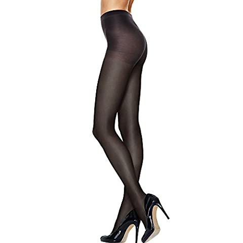 Hanes Silk Reflections Lasting Sheer Control Top Tights, Jet, IJ