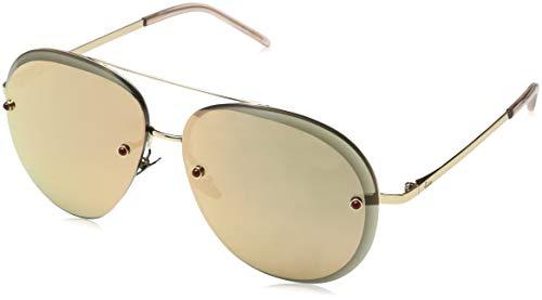 Pomellato pm0027s 005, occhiali da sole donna, oro (005-gold/pink), 60
