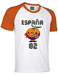 GP Camiseta Naranjito Mundial 82 Talla XL