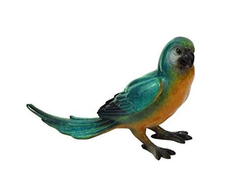 Papagei Kakadu Ara Sittich Wellensittich Deko Garten Vogel Eule Figur Skulptur