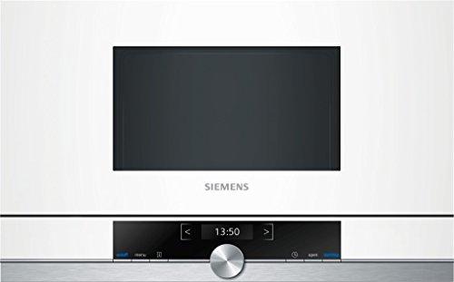 Siemens BF634LGW1 – Microondas, 1220 W, color blanco y gris