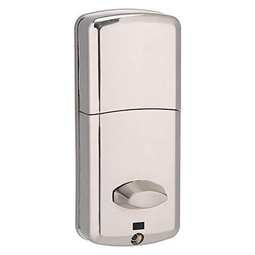 Digital Smart Bluetooth Türschloss elektronische Passwort Türschloss Set mit Schlüssel und Zubehör Karte Ode Smartphone Telefon App Control Eintrag Safe Lock (Türschloss-set Eintrag)