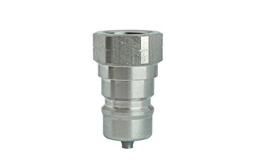 trδle zb801116Schnellkupplungen ISO A NPT Stecker, Edelstahl, 2,5cm
