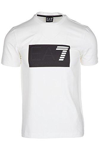 Emporio Armani EA7 t-shirt manches courtes ras du cou homme blanc Emporio Armani