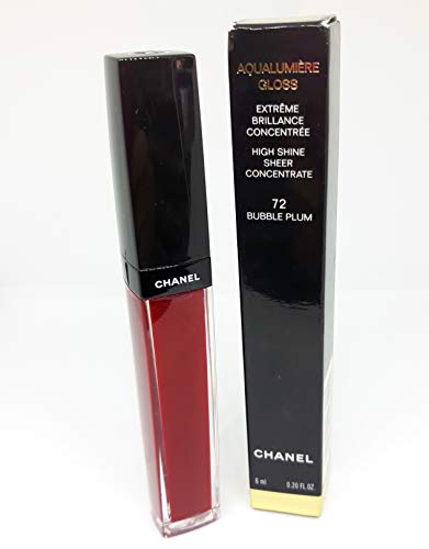 Aqualumiere Gloss ( High Shine Sheer Concentrate ) - # 72 Bubble Plum - 6 ml