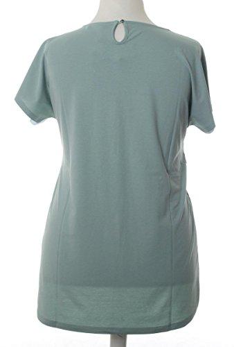 43794c2e09d816 ... No Secret T-Shirt Damen Palmen für Mollige mit großen Größen kurzarm  Übergrößen Grün