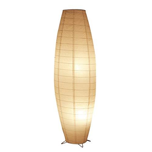 XUANLAN Tejidos de Papel lámparas de pie, Hecha a Mano Vertical la luz del Piso, la Sala de Estar Dormitorio Principal Permanente luz E14