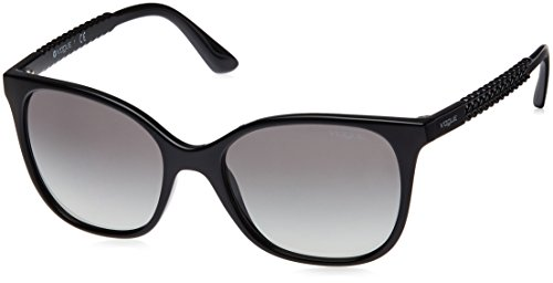 Vogue Gradient Square Women'S Sunglasses - (0Vo5032Sw44/1154|53. 9|Gray Gradient) image
